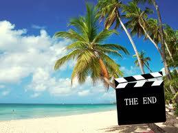 Fin des vacances au soleil