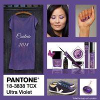 Ultra violet, couleur de l'année 2018 par Pantone