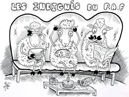 Les Indignés du PAF