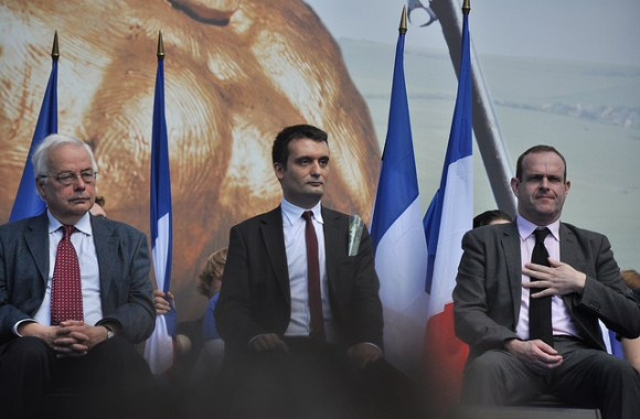 Meeting 1er mai 2012 Front National Blandine Le Cain