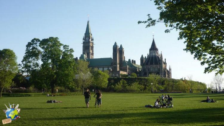 parlement depuis Major Hill Parc