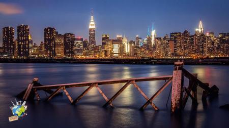 La skyline de New-York, vraiment magique