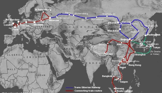 Trans-Siberian-map