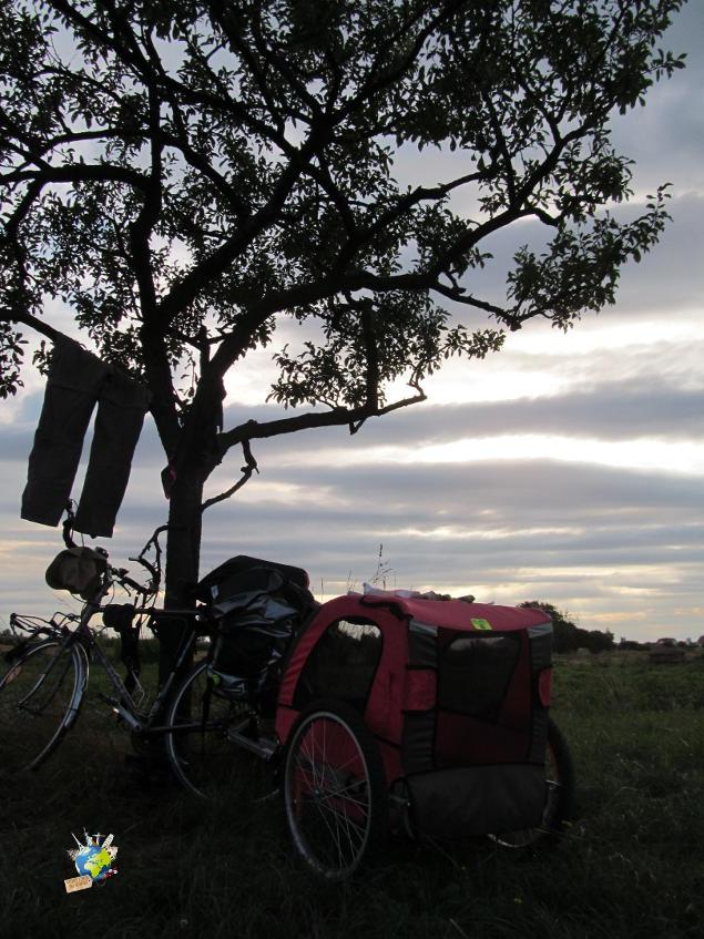 1500 km à vélo