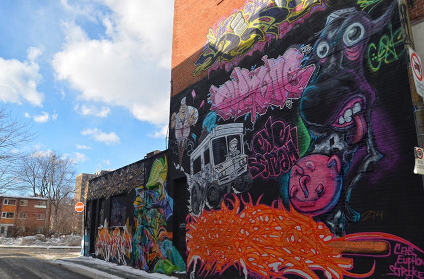 Du street art à Montréal, c'est possible