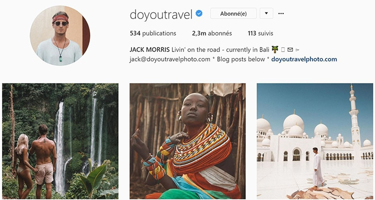 do you travel instagram