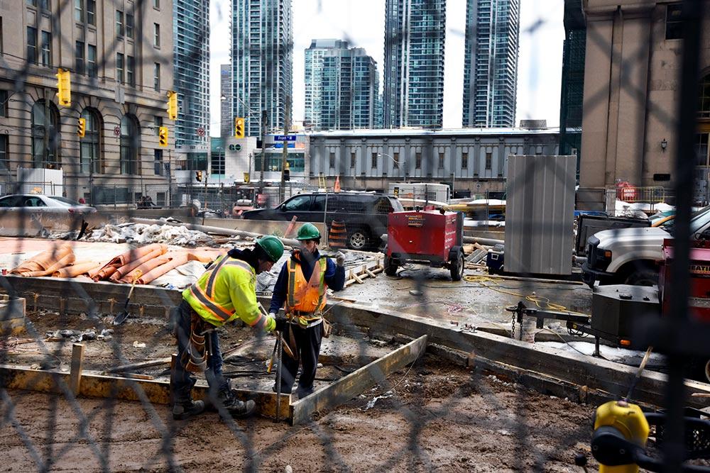 Les chantiers sont vraiment partout, cela impressionne!