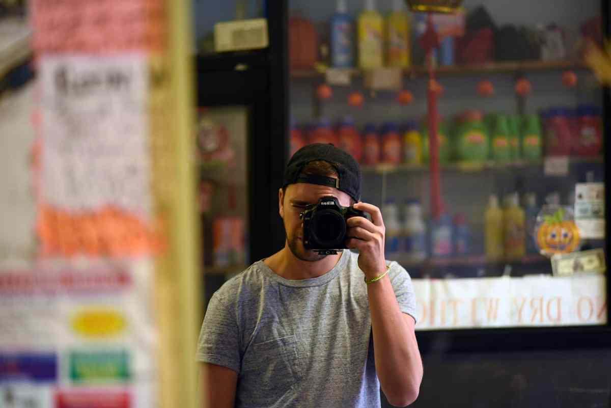 Je peux aussi me déguiser en photographe :)