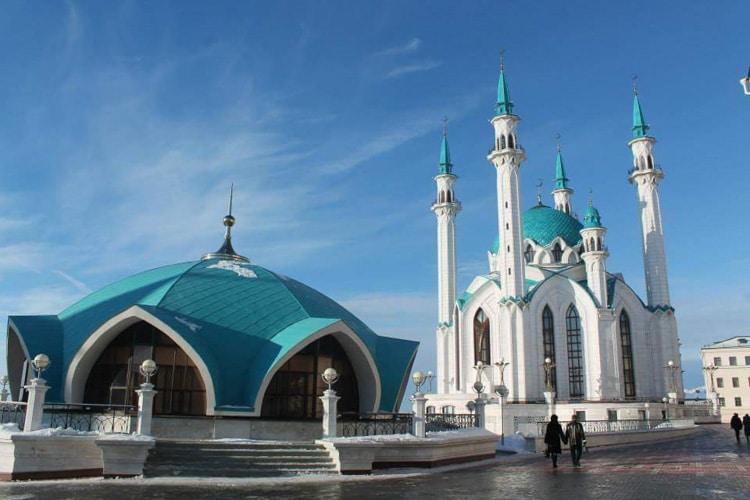 La grande mosquée de Kazan