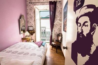 Lisbonne-Alfama-hostel-chambre