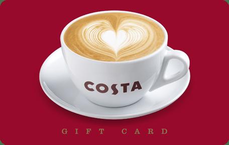 Costa Gift Cards Voucherline