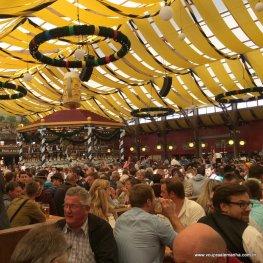 Tenda da Oktoberfest de Munique