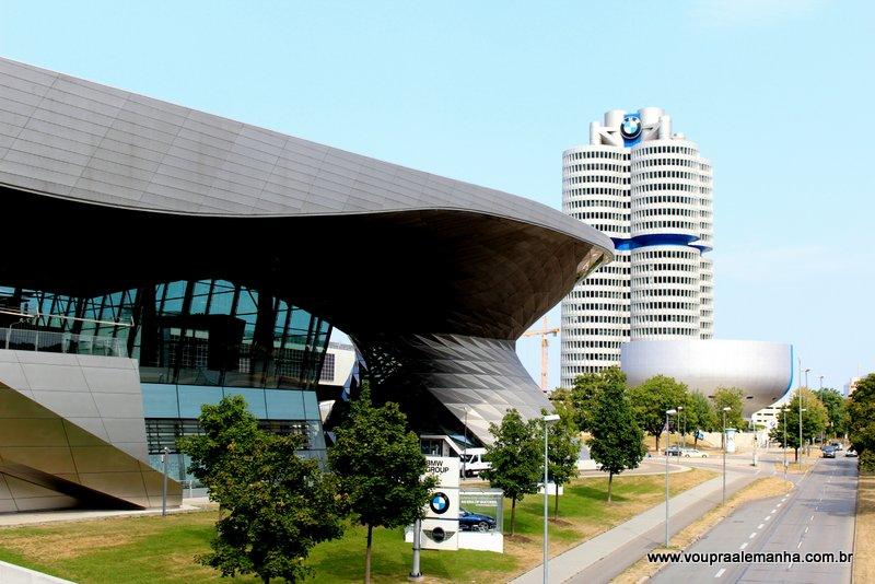 Prédios da BMW no Parque Olímpico