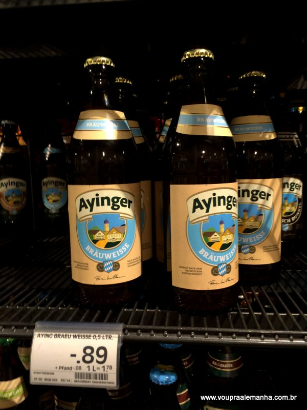 Ayinger: € 0,89
