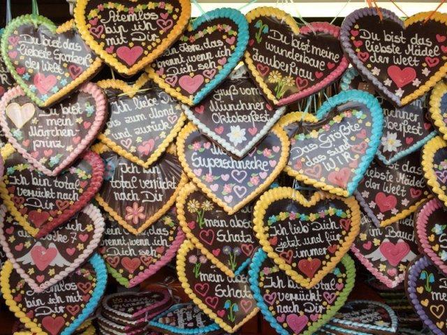 Uma forma de presentear com amor com o Lebkuchenherz