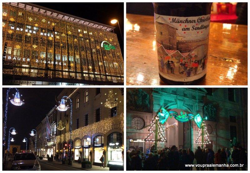 A época do Natal é mágica na cidade