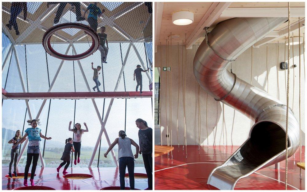 Um prédio inteiro dedicado à diversão - para crianças e adultos!
