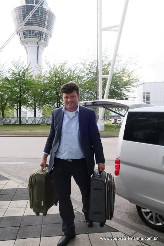 Motorista do Transfer do aeroporto de Munique