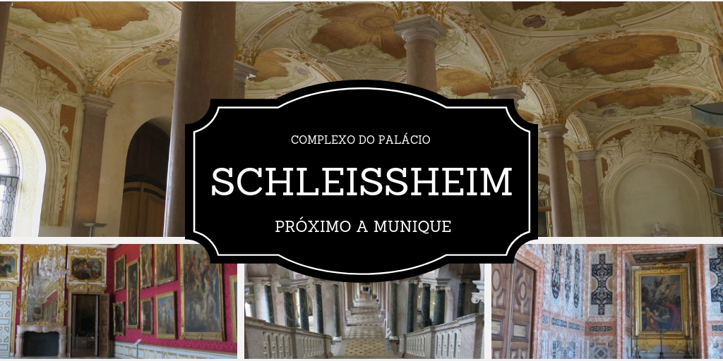 Palácio Schleissheim nos arredores de Munique