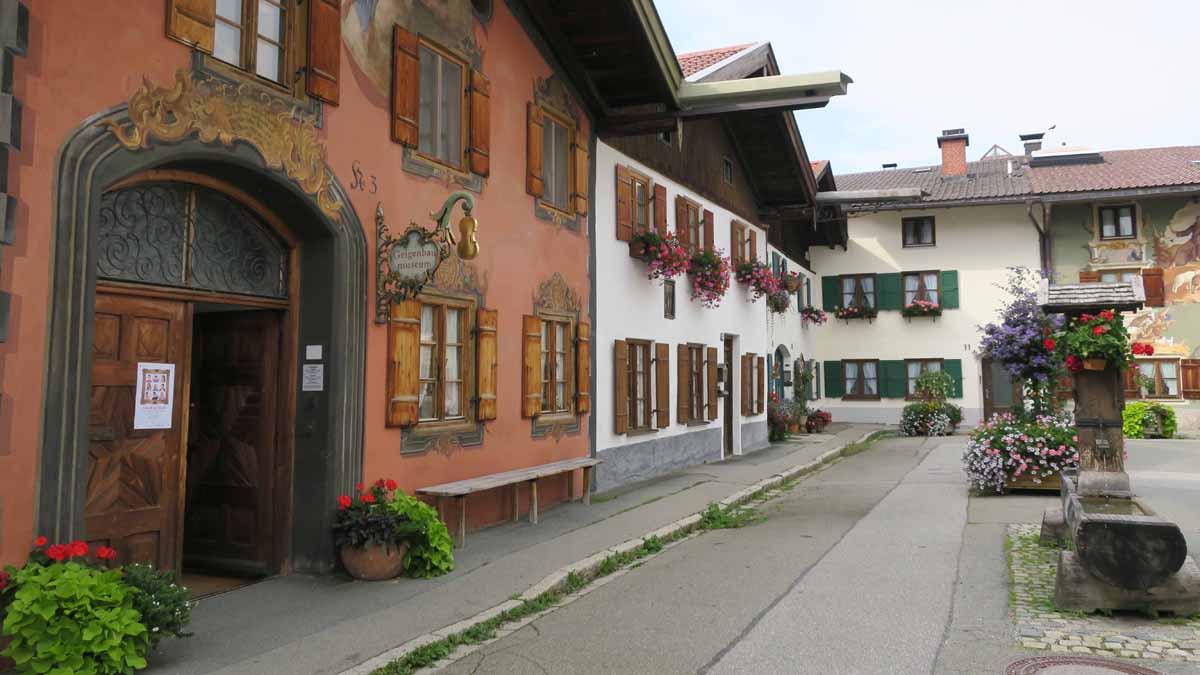 Museu do violino em Mittenwald, na Rota dos Alpes da Alemanha