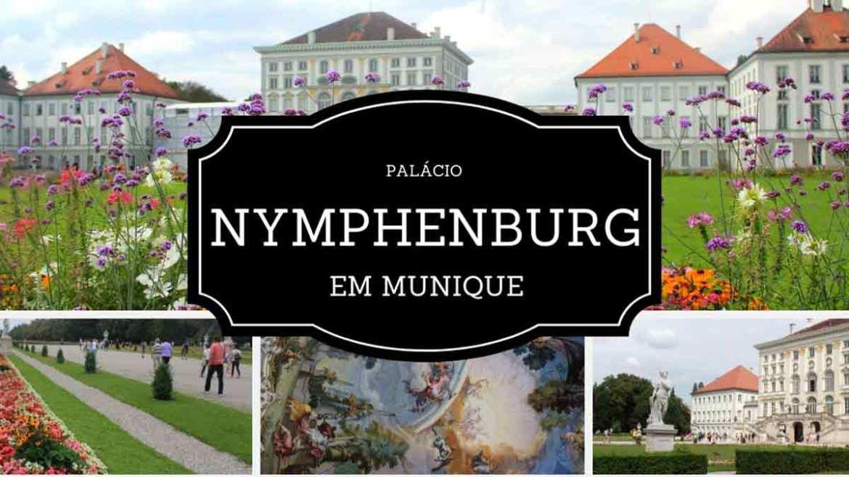 O que fazer em Munique - Palácio Nymphenburg