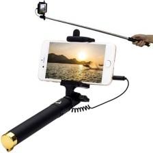 Selfie Stick με κουμπί και καλώδιο Jack 3,5 mm