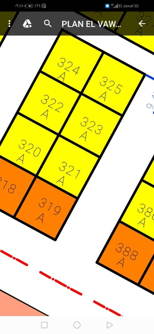فرص نيمرو للبيع في الفوز الصحراوي مساح 400م فرص محدود