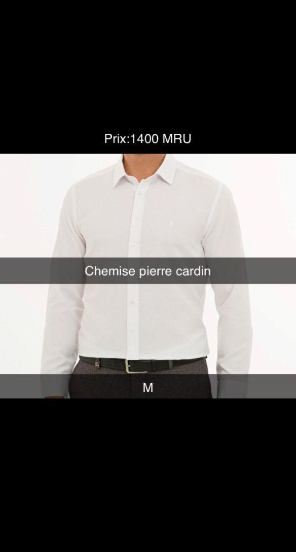 chemises des pierre cardin