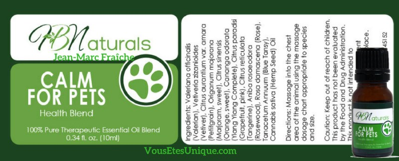 Calm-for-Pets-Animaux-de-compagnie-Hemp-Herbals-HB-Naturals-Jean-Marc-Fraiche-VousEtesUnique