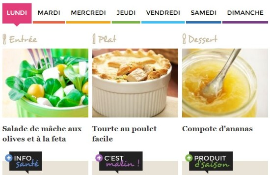 idee-menu-semaine-recette-cuisineaz