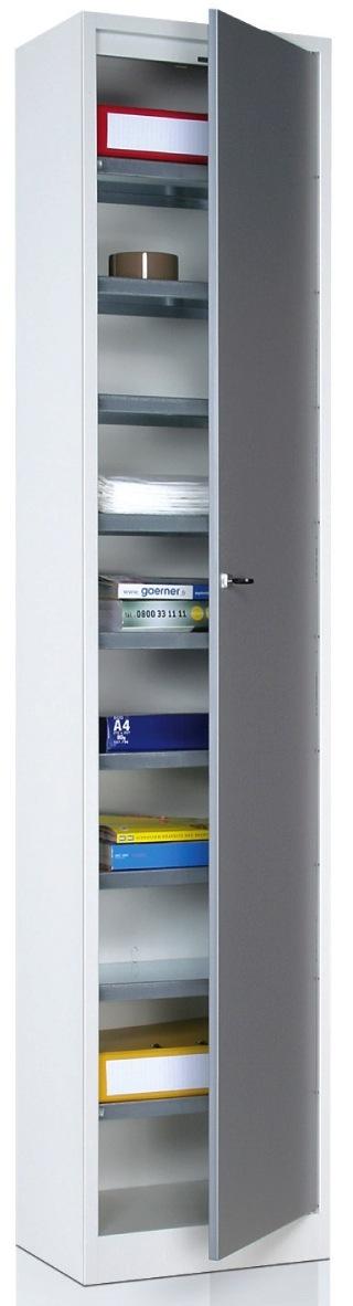 Armoire Metallique De Rangement Plat 1 Grande Porte 10