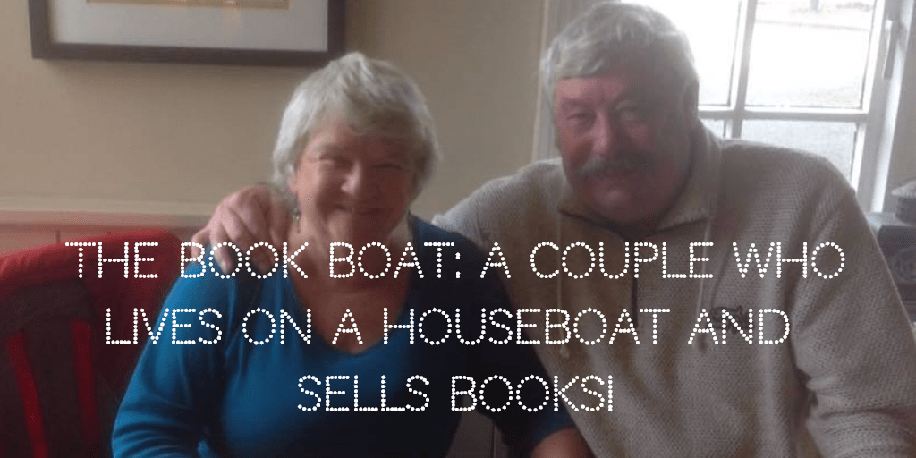 The Book Boat A Couple who lives on a Houseboat and Sells Books!