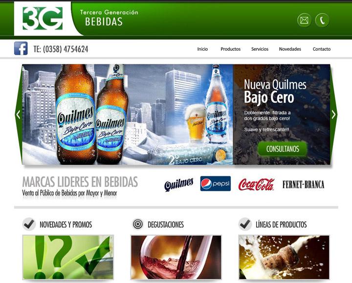 3G – Tercera Generación Bebidas