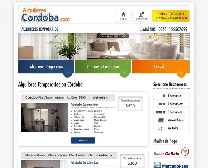 Alquileres Córdoba