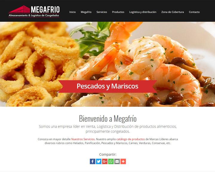 Megafrío – Alimentos Congelados