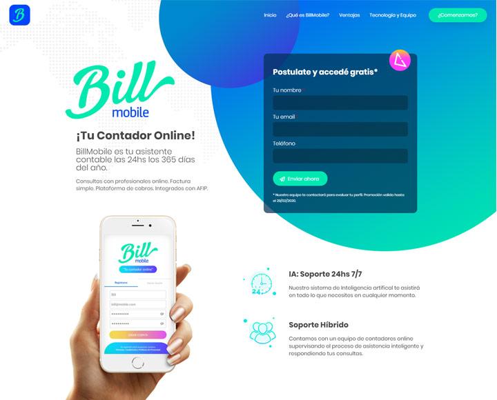 diseño web mobile
