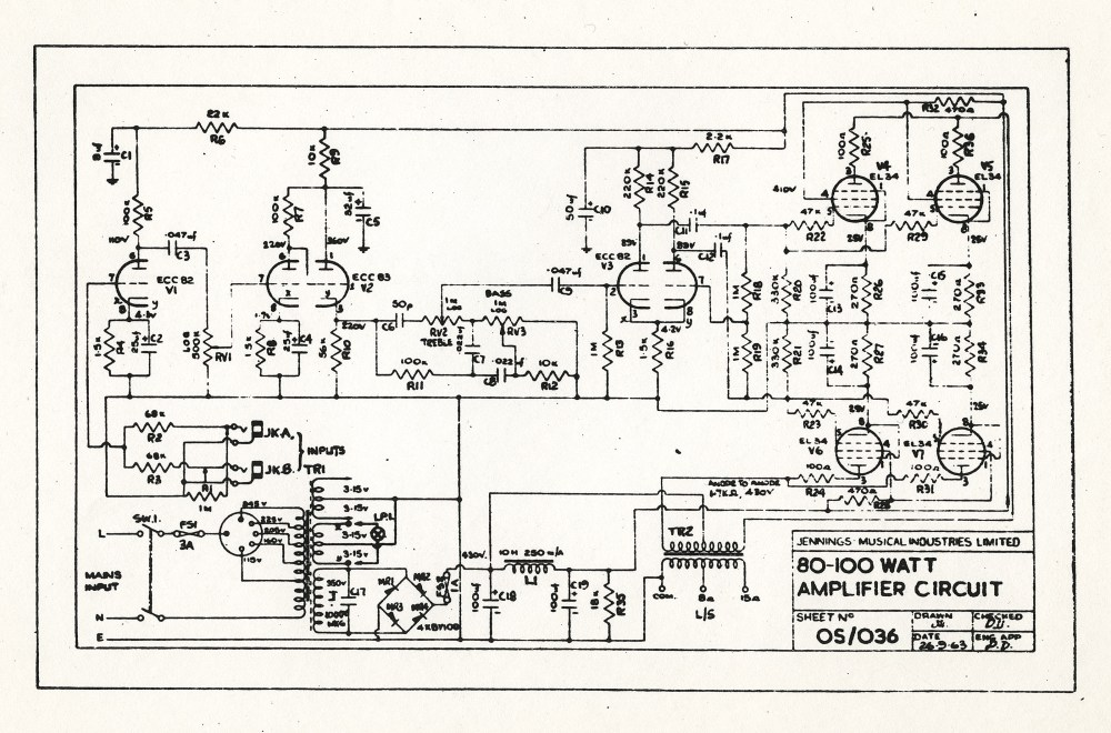 medium resolution of vox amp schematic wiring diagramvox ac100 schematicsvox ac80 100 schematic