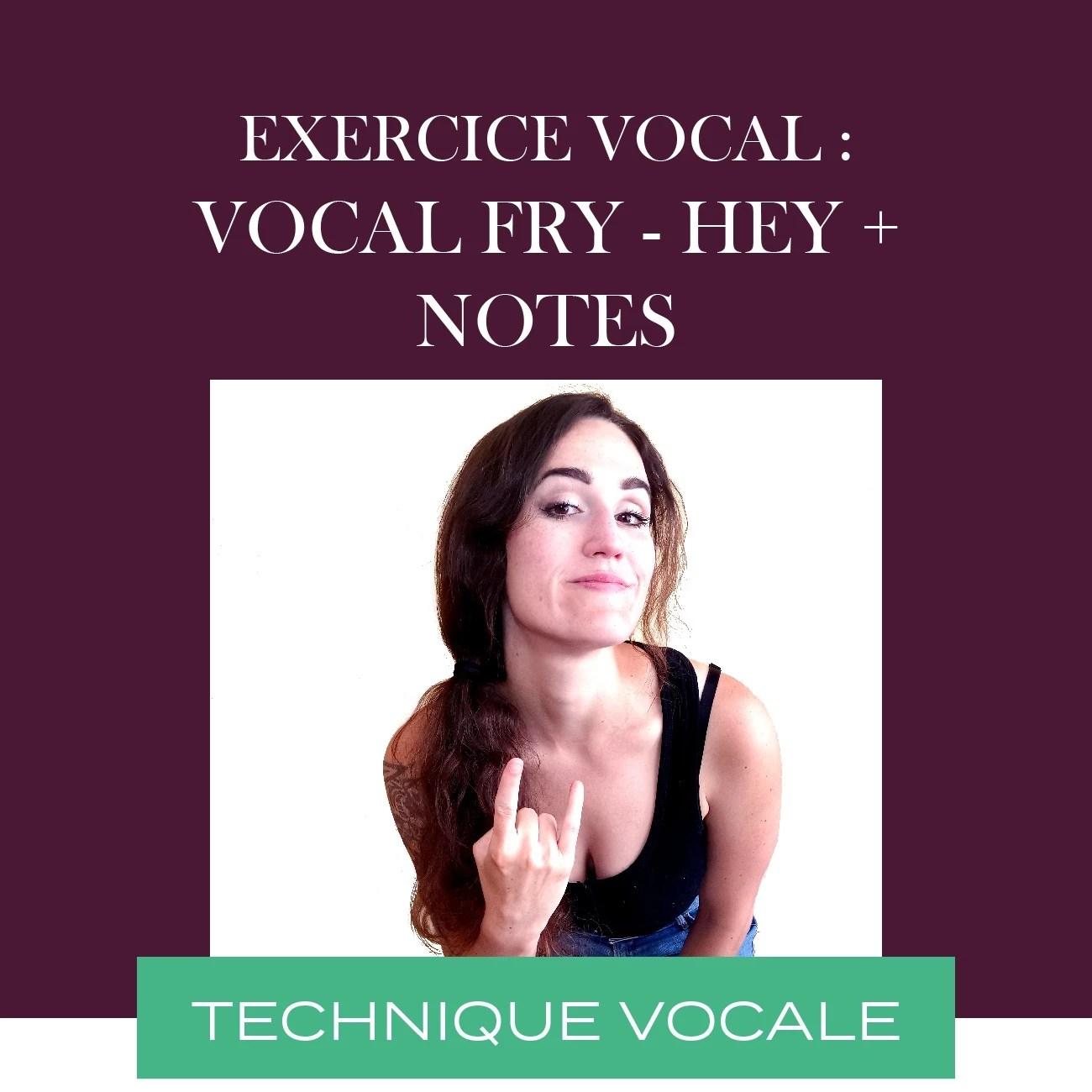 Qu'est-ce que le vocal fry ?