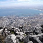 Views from Table Mountain - perfect after a long hike and a relaxing yoga session