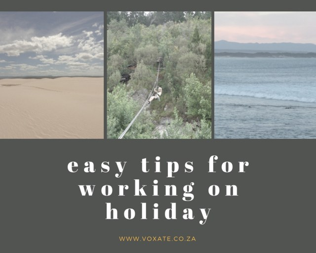 tips for working on holiday