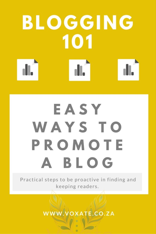 Easy Ways to Promote my Blog