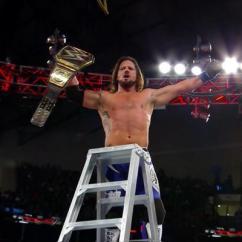 What Are Wwe Chairs Made Of Millennium Tree Stand Chair Tlc 2016 : Aj Styles Bat Dean Ambrose Et Conserve Son Titre De Champion La Grâce à ...
