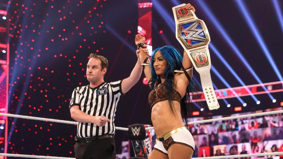 WWE Royal Rumble 2021 : Sasha Banks reste championne de SmackDown
