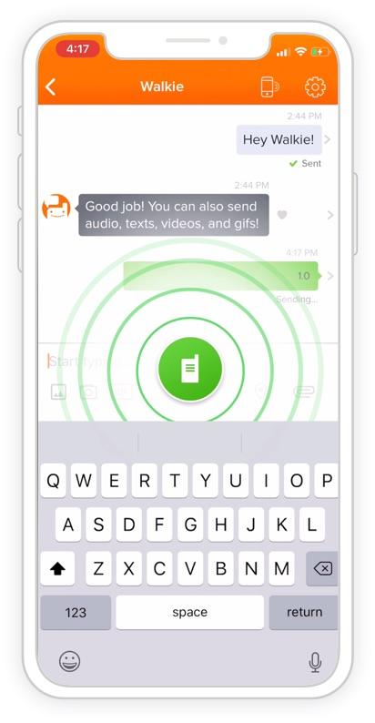 walkie talkie app for