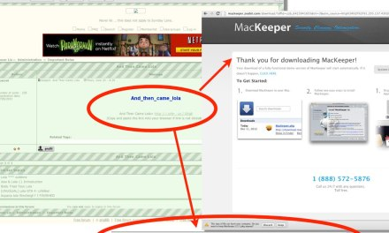 MacKeeper's scam, a company that has no shame