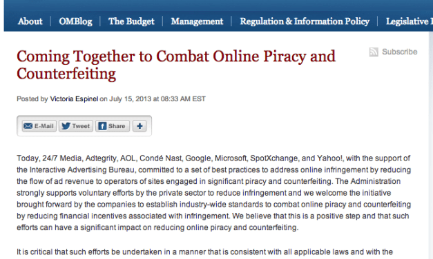 London law enforcement getting tough with ad-sponsored piracy