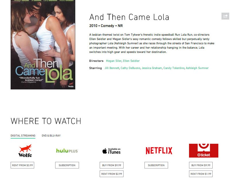 Searching for Movies & TV online just got a lot easier with launch of WheretoWatch.com
