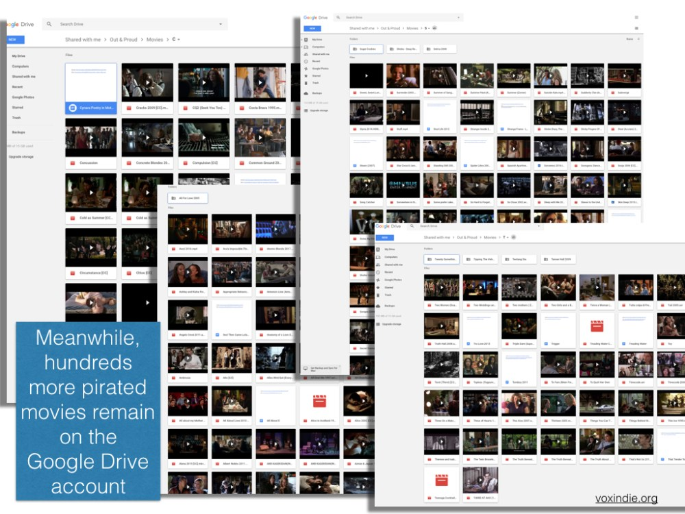 Google continues to make piracy easy