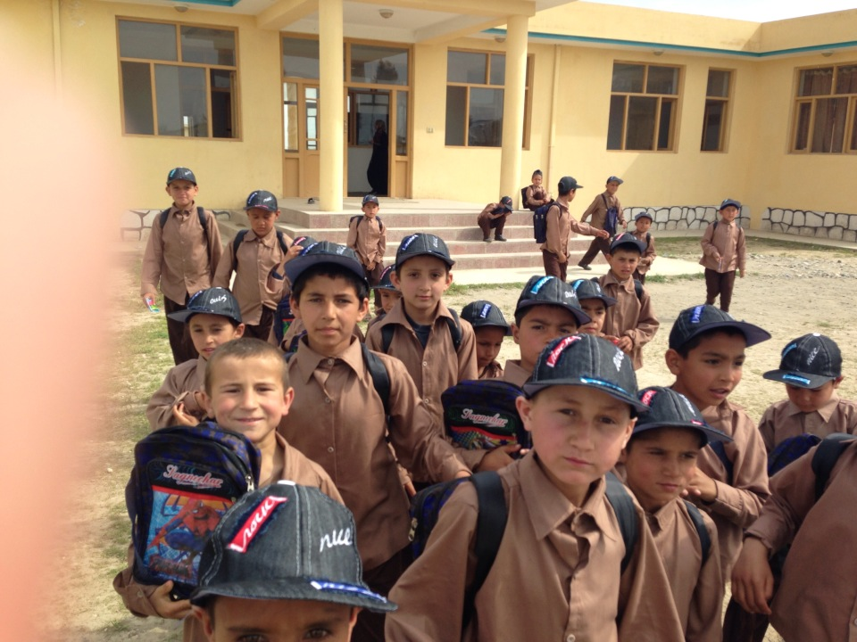 2014-04-kunduz-inauguration-boys-with-new-clothes