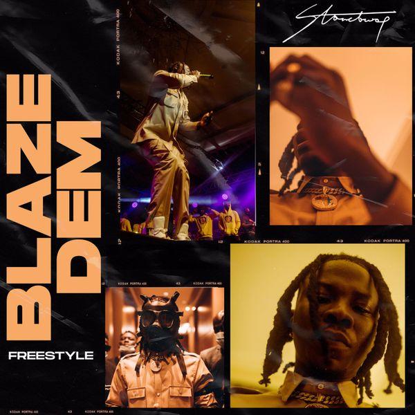 Stonebwoy Blaze Dem Freestyle